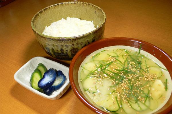 宮崎の郷土料理 冷汁 写真